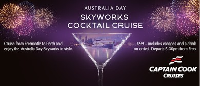 Australia Day Skyworks Cocktail Cruise