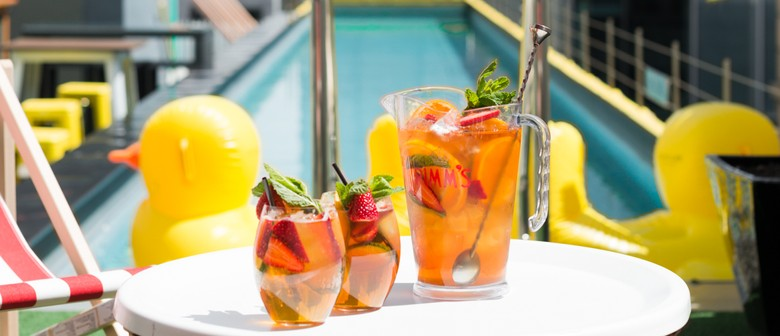Pimms Pop-Up Pool Sessions