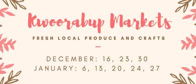 Kwoorabup Markets