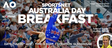 The Australia Day Breakfast with Alicia Molik