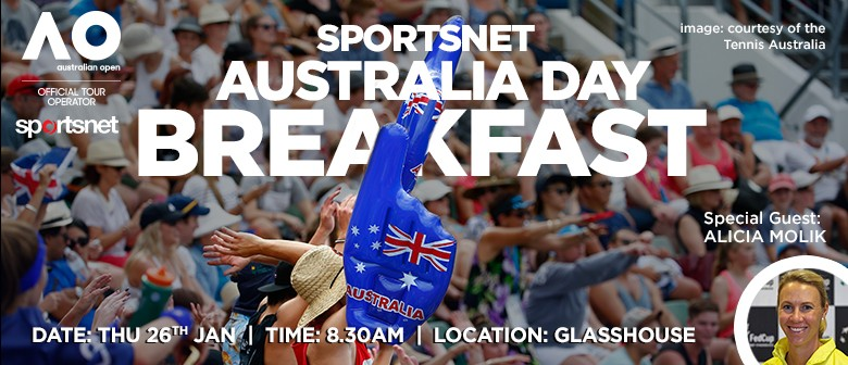 The Australia Day Breakfast with Alicia Molik