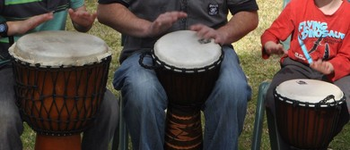 Holiday Drumming Workshops for Kids 8-12yrs
