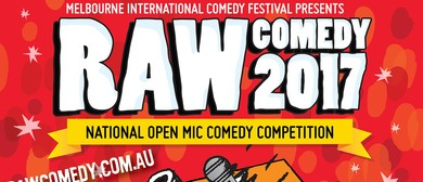 Raw Comedy 2017 – Semi Final 1