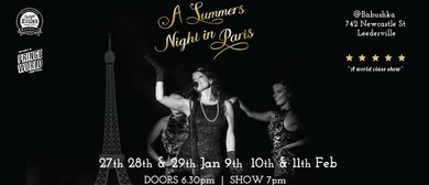 Fringe World Festival – A Summers' Night In Paris