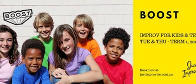 Boost – Improv for Kids 9-12 Years