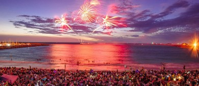 Australia Day Fireworks and Freo Fiesta