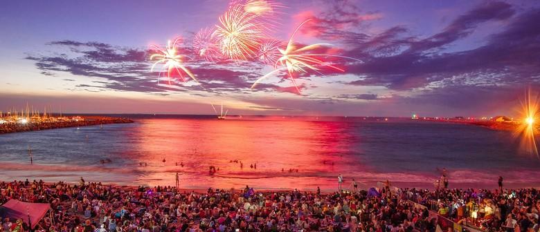 Australia Day Fireworks and Freo Fiesta