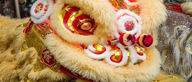 Technicolour Chinese New Year Night Market