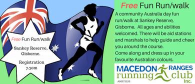 5km Australia Day Fun Run/Walk