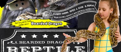 Bearded Dragon Crocodile and Reptile Show