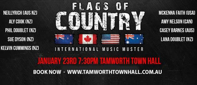 Flags of Country – International Muster