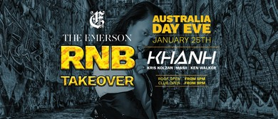 RnB Takeover – Australia Day Eve