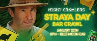 Straya Day Themed Bar Crawl