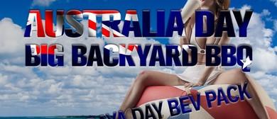 Australia Day Big Backyard BBQ