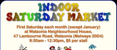 Indoor Saturday Market
